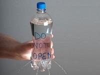 در بطری را باز نکنید