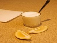 آزمایش  کف آلود با لیمو