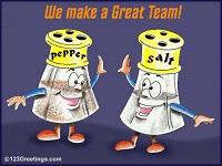 جدا کردن نمک و فلفل